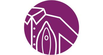 Safe on all ironable garments, no-burns guaranteed