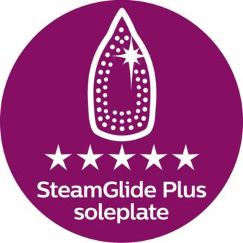 قاعدة مكواة Steamglide Plus لأفضل أداء انزلاق