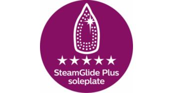 SteamGlide Plus soleplate for ultimate gliding performance