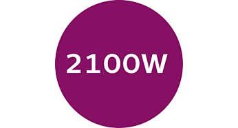 2100W pour une montée en température rapide