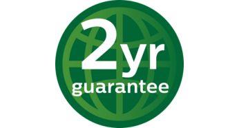 2года гарантии во всех странах