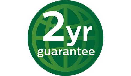 Garantía mundial de 2años
