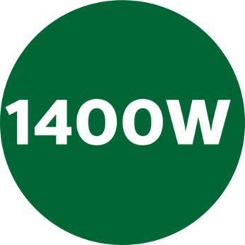 Motor puternic de 1400 W pentru amestecuri mai fine