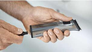 El recortador se puede usar con o sin cable
