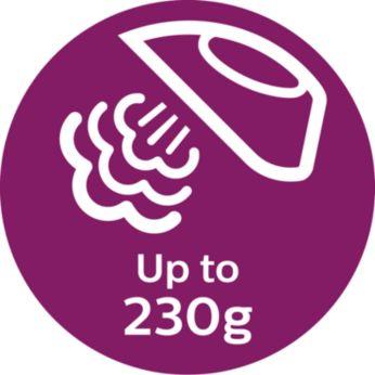 Паровой удар до 230г для разглаживания жестких складок