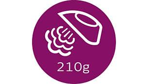טח קיטור עד 210 גרם להחלקה ויישור של קמטים עיקשים