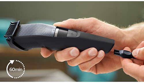 Se puede usar durante 60minutos sin cable o enchufarlo