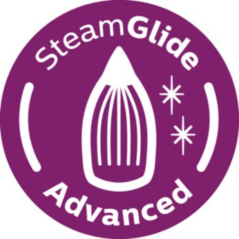 SteamGlide Advanced soleplate, ultimate gliding & durability