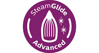 SteamGlide Advanced soleplate, ultimate gliding and durability