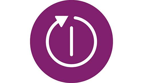 Funkcja automatycznego wyłączania powoduje wyłączenie żelazka zostawionego bez nadzoru