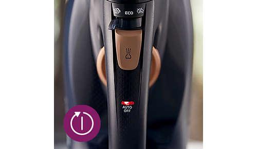 Oprire automată când fierul este lăsat nesupravegheat
