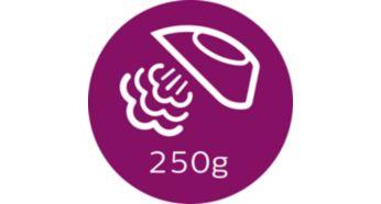 Паровой удар до 250г для разглаживания жестких складок