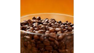 Герметичная конструкция контейнера сохраняет свежесть кофейных зерен