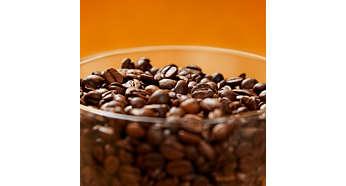 Запазете зърната свежи за по-дълго време благодарение на уплътнението за запечатване на аромата