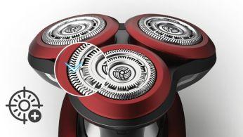 V-track precíziós PRO körkések a legjobb borotválkozáshoz 3 napos borosta esetén