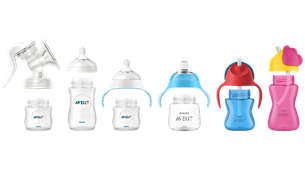 Kompatibel mit dem Philips Avent Natural-Sortiment