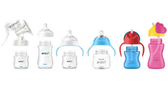 Compatible con la gama Philips Avent Natural