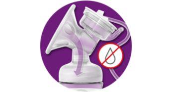 Закрытая система— создана для гигиеничного сцеживания
