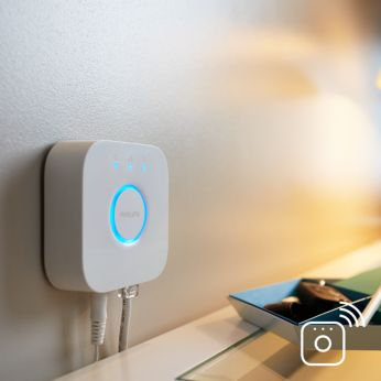 Full control from smart device with Hue bridge