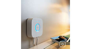 Full control from a smart device with the Hue bridge