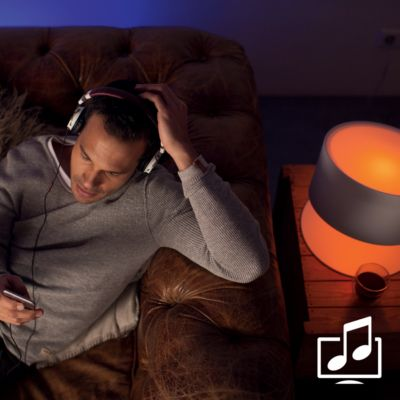 Sync lights with music and movies