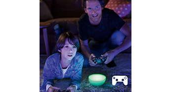 Licht passend zu Ihren Spielen