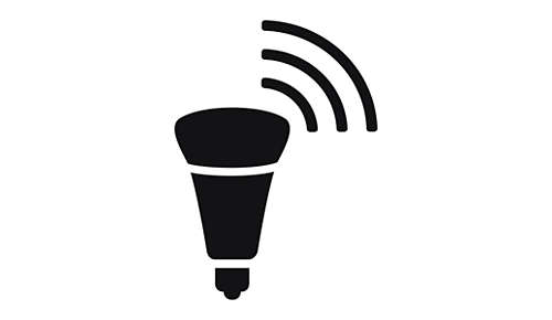 Draadloos bedienbare LED-lamp