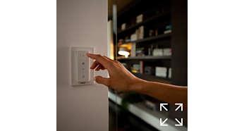 Flexible Platzierung des Schalters