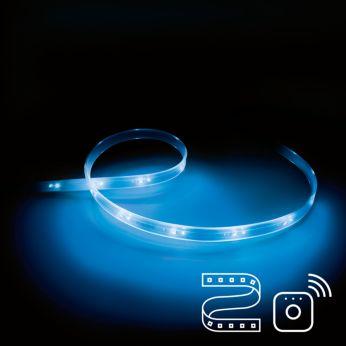 """Reikia """"Philips Lightstrip Plus"""" ir """"Philips Hue"""" sujungimo"""