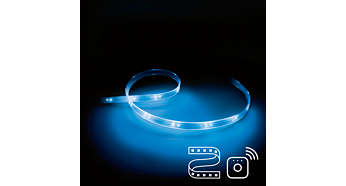 Richiede una Philips Lightstrip Plus e un bridge Philips Hue
