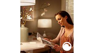 Philips Hue ランプの調光