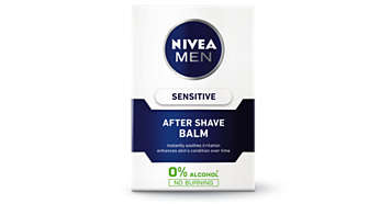 Sensitive After Shave Balm instantly soothes irritation