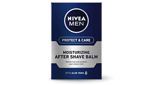 Moisturises and protects your shaven skin