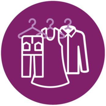 Safe on all ironable fabrics, no burns guaranteed
