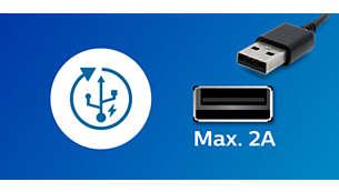 Ātra un efektīva USB uzlāde jūsu viedierīcei