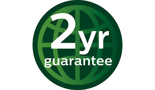 2-letnia światowa gwarancja