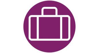 Компактный дизайн для удобного использования, хранения и путешествий