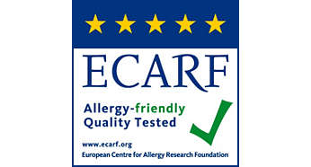 Zertifiziert oder geprüft von ECARF und Airmid