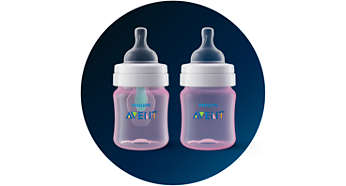 Use your bottle with or without the AirFree vent