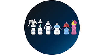 Mix and match with other Philips Avent products