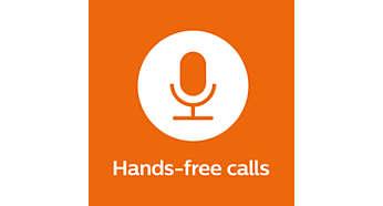 Convenient hands-free calling