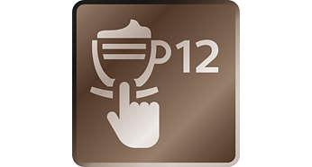 12 verschillende koffiedranken binnen handbereik