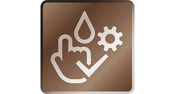 Reinigings- en onderhoudssysteem in drie keer klikken