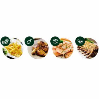 Fyra förinställda matlagningsprogram