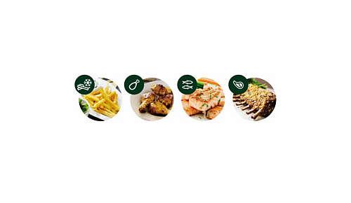 4 voorgeprogrammeerde instellingen voor de populairste gerechten