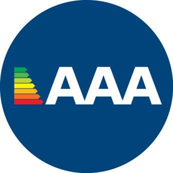 Висока ефективност с енергиен клас 3AAA