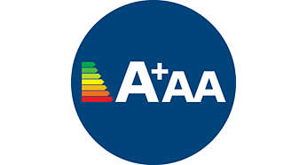 A+AA enerji sınıflarıyla yüksek performans