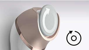 特殊的旋转圆盘,可使脚跟到脚尖,光滑柔能每一寸