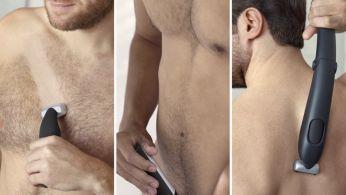 Подстригвайте или бръснете всички зони по тялото, без притеснения