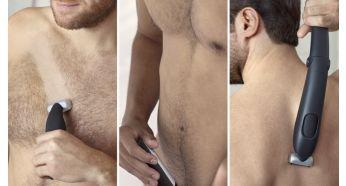 Уверенно обрезать или побрить все зоны тела